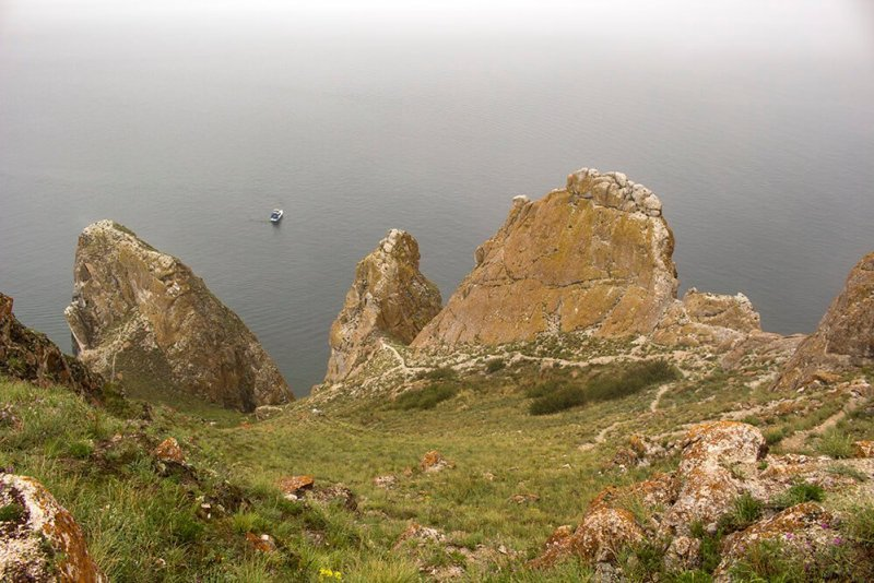 Three Brothers Cape in Olkhon