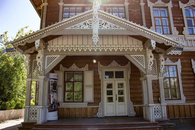 Sukachev manor in Irkutsk, Russia