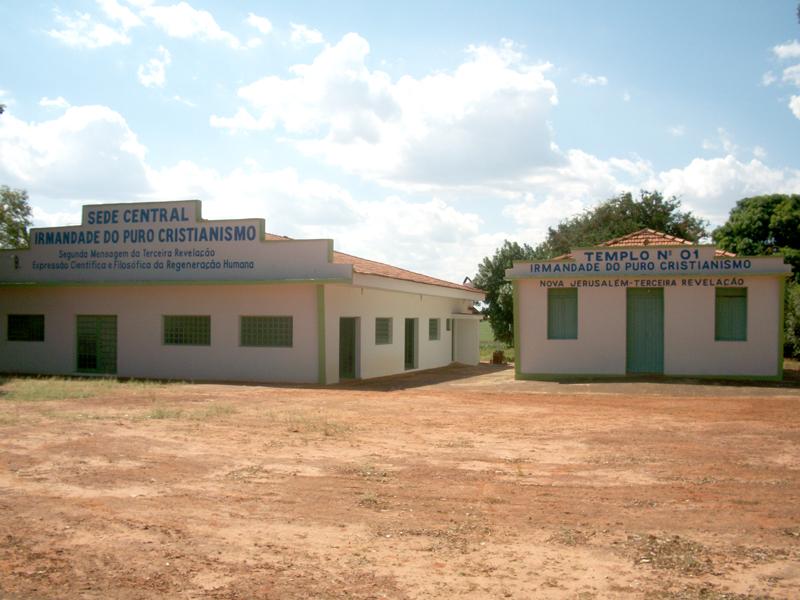 Sede Central e Templo nº 1 - Irmandade do Puro Cristianismo - Bairro Rural de Duas Barras - Birigui - SP