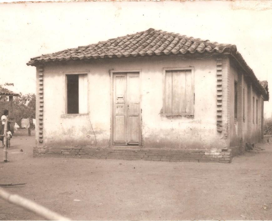 Primeiro Templo da Irmandade Construido em 1933