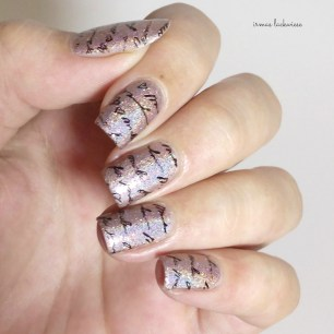 bear pawlish - baby bears breath (16) + stamping moyou princess 11
