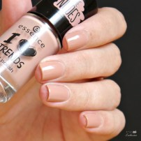 essence the nudes und the metallics aztec nails (6)