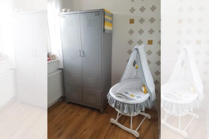 Babykamer wiegje
