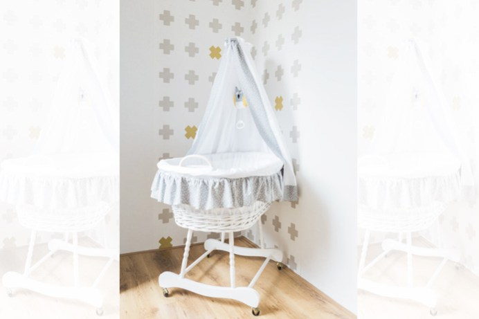 babykamer wieg