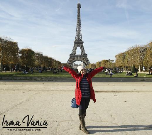 liburan ke paris gratis reward moment irma vania usaha rumahan online