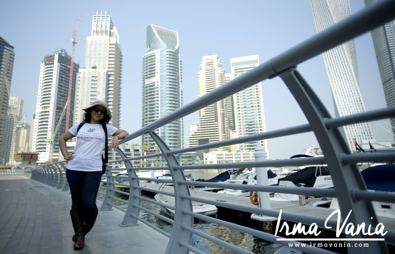irma vania oesmani wisata gratis ke Korea