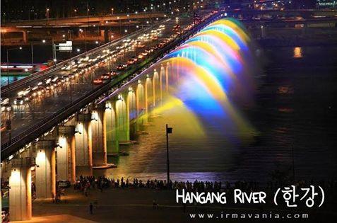 Gratis ke Korea Selatan Sungai Han Moment Irma Vania