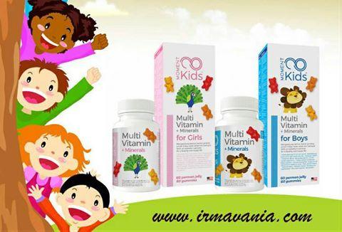 Moment Kids Multi Vitamins dan Minerals Irma Vania Surabaya