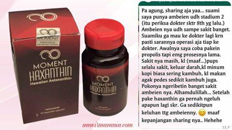 Manfaat Haxanthin untuk Solusi Masalah Ambeien Beli Produk Moment