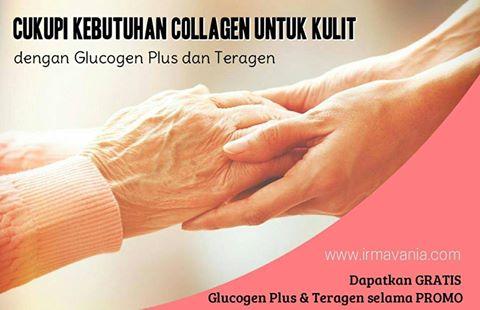 Teragen dan Glucogen Gratis dari Moment Irma Vania Jakarta