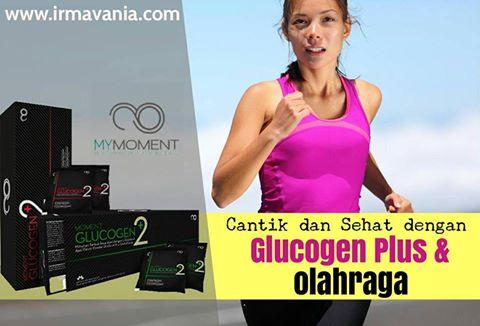 Tips Lebih Cantik dengan Olahraga plus Glucogen