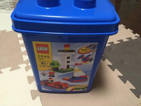 レゴ 青いバケツ