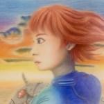 色鉛筆 風の谷のナウシカ ジブリ