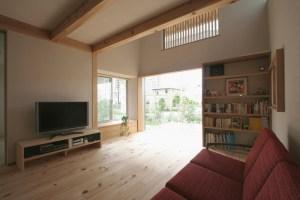 自然素材の家づくり流山の家-11