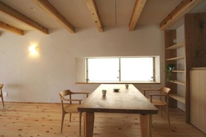 自然素材の家づくり流山の家-7