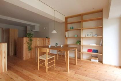自然素材のマンションリノベーション杉並-6