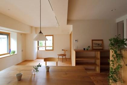 自然素材のマンションリノベーション杉並-10