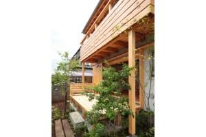 自然素材の家づくり立川の家-13