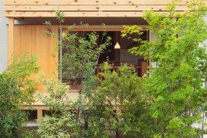 自然素材の家づくり立川の家-16