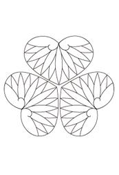 Illustratorで葵の葉を描くチュートリアル -和素材作り-