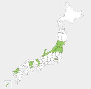 台風未上陸県