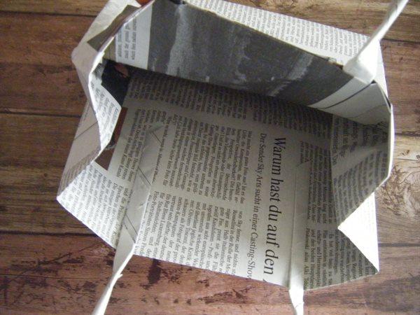 安定した袋