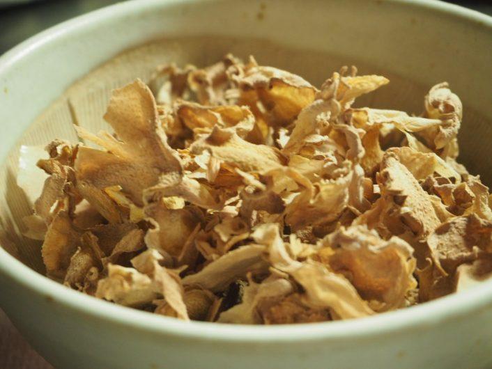 蒸し生姜作り