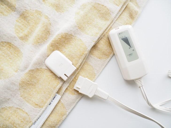 洗える電気ひざ掛け「ソルデ(SOLDE)エレクトリックブランケット」電磁波カットの口コミ・感想