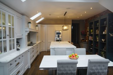 Kitchen Design - Lytham House - Lytham St Annes - by Iroko Designs - 30