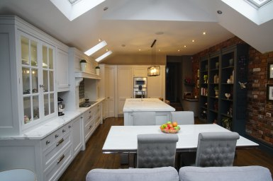 Kitchen Design - Lytham House - Lytham St Annes - by Iroko Designs - 31