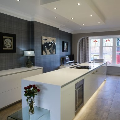 Kitchen Design - St Pauls Road - Lytham St Annes - by Iroko Designs - 1