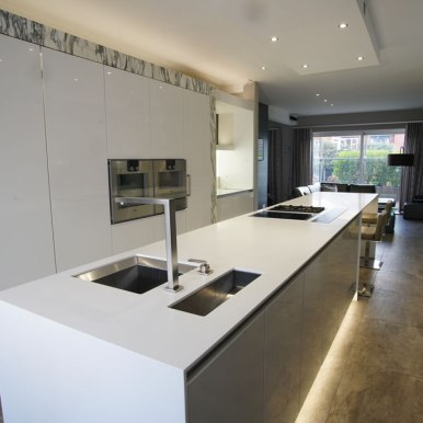 Kitchen Design - St Pauls Road - Lytham St Annes - by Iroko Designs - 19