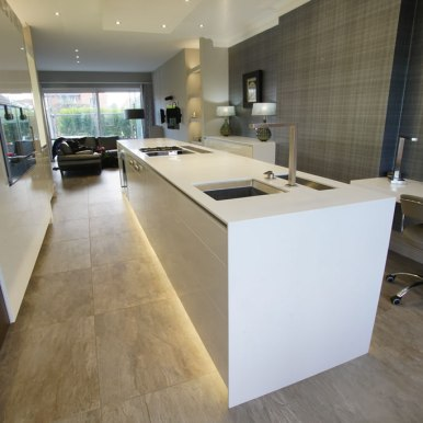 Kitchen Design - St Pauls Road - Lytham St Annes - by Iroko Designs - 9