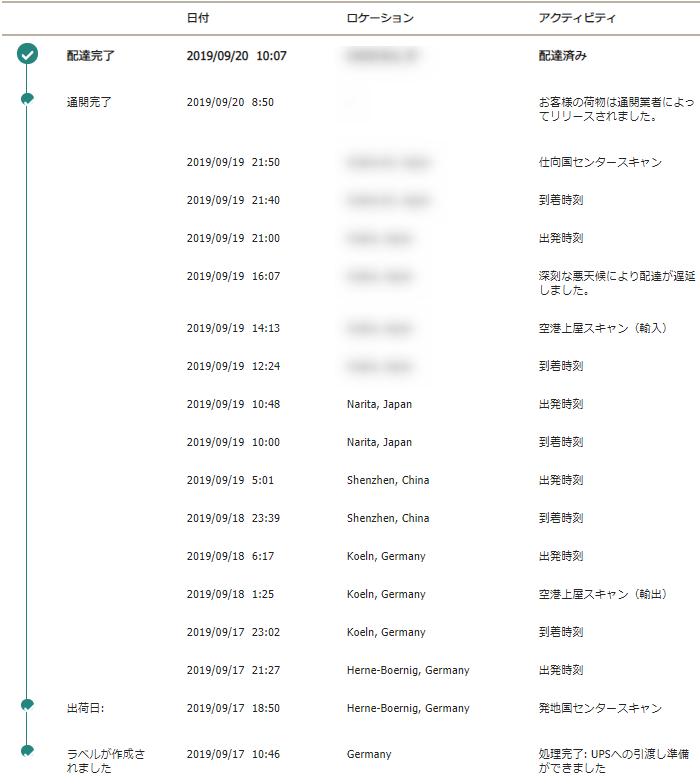 KEMPER PROFILER STAGEの個人輸入で注文から届くまでの日数