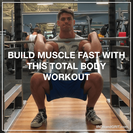 my hyperefficent full body workout bodybuilding routine