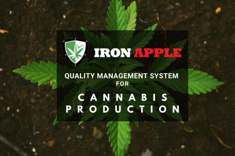 Iron Apple Cannabis QMS