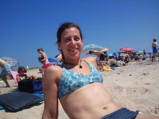 Melinda-After on Beach