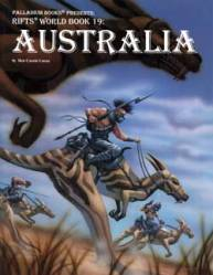 Rifts Australia worl book cover