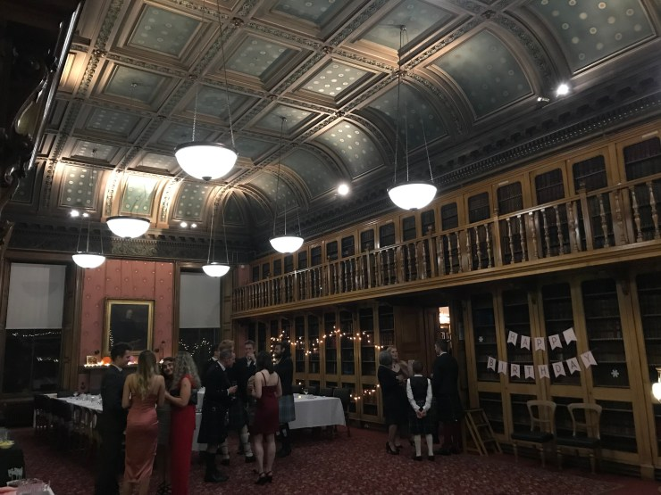 Society of Advocates Library for a ceilidh