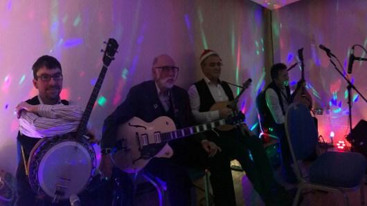 Christmas ceilidh band pic