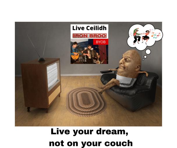 Ceilidh promo poster