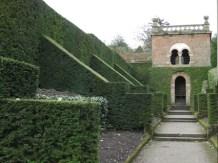 Yew hedges -Biddulph Grange Staffordshire