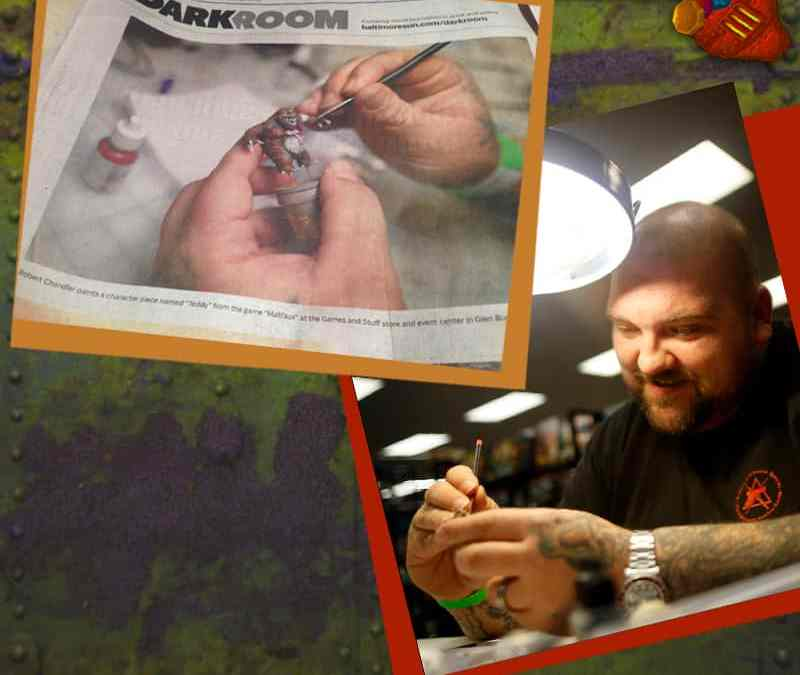 The miniatures hobby in the paper