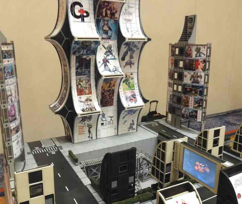 Neo-Tokyo Infinity Table at Adepticon