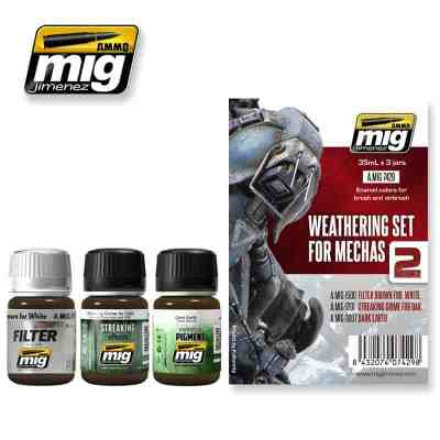 Weathering set for mechs