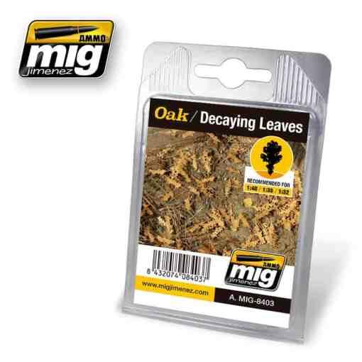 Oak - Decaying Laser Cut Leaves
