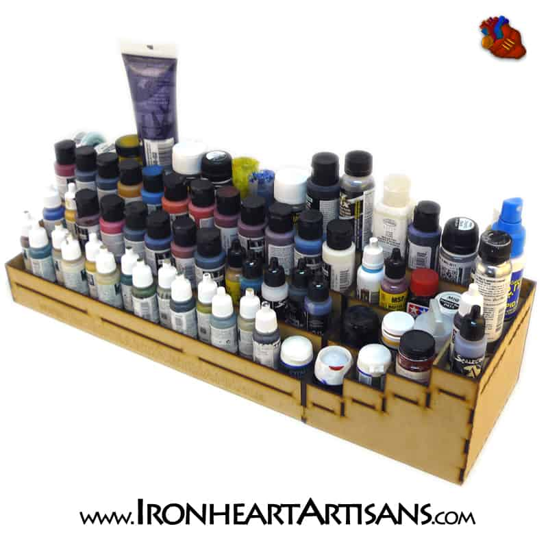 alcohol paint furniture 4 tier stepped paint rack ironheart artisans