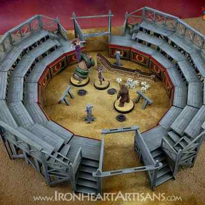 Carnuntum Ludus Training Arena