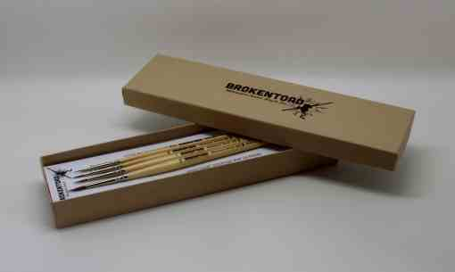 MINIATURE SERIES MK2 BRUSH SET