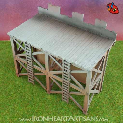 Modular Fort Short Wall for Kings of War